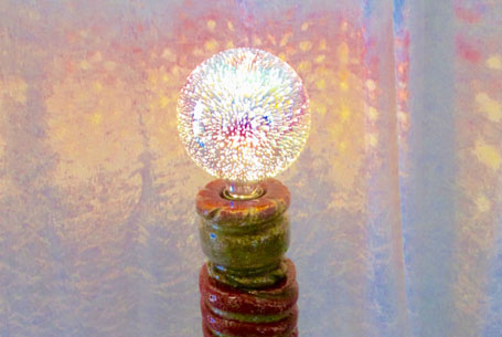 Création lampe artisanale - Artisan Saint-Maden