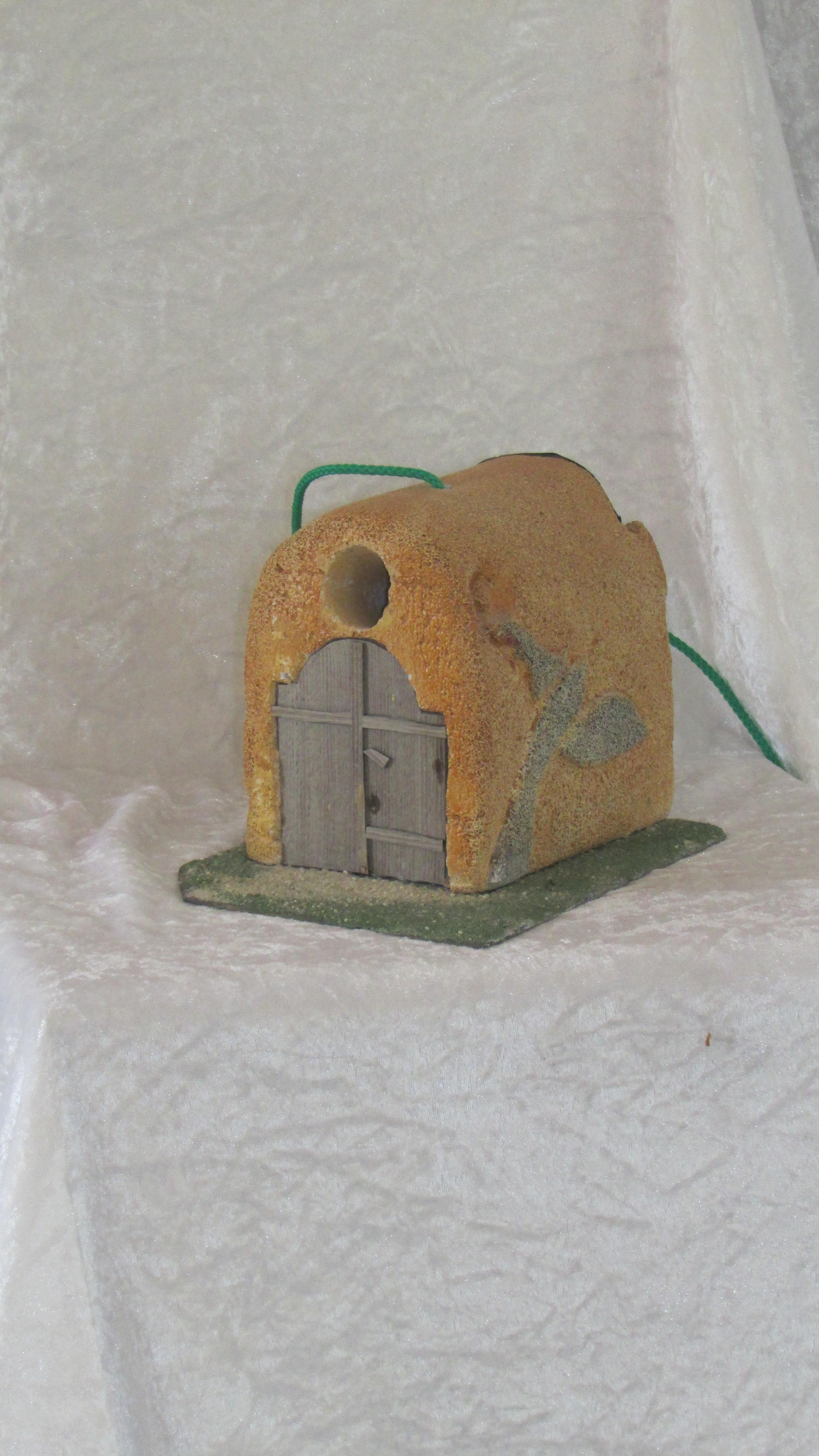 nichoir unique en béton cellulaire